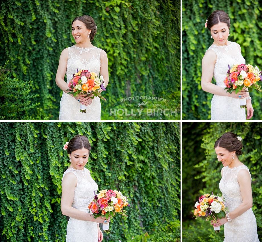 midwestern bride bridal portrait