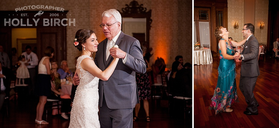 father-daughter and mother-son dance in Champaign
