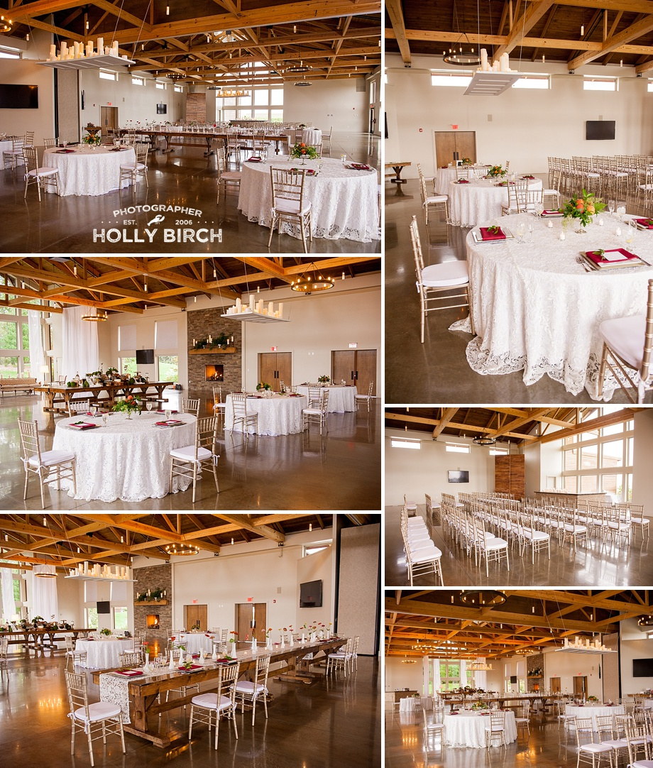 elegant and rustic central Illinois wedding venue