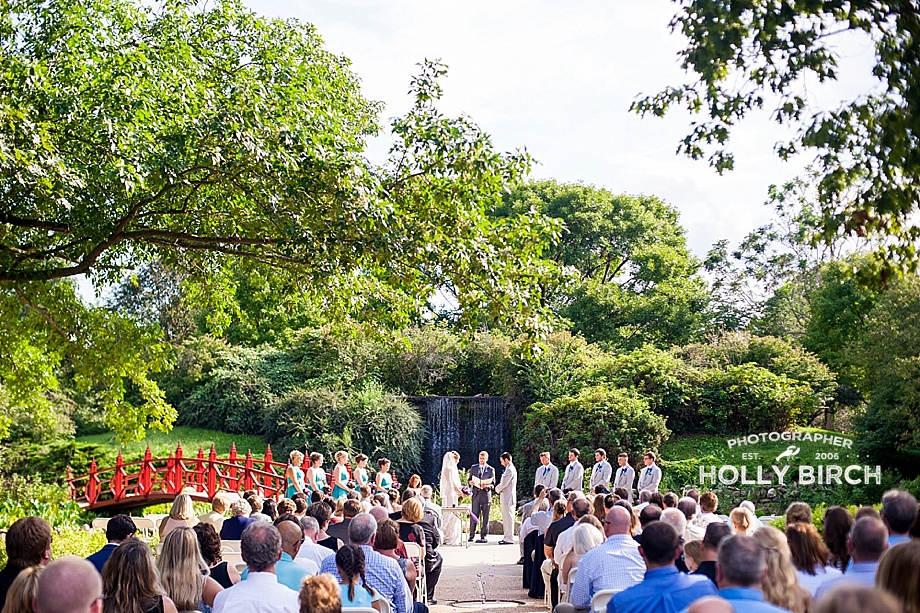 Champaign County Forest Preserve wedding at Lake of the Woods Botanical Gardens