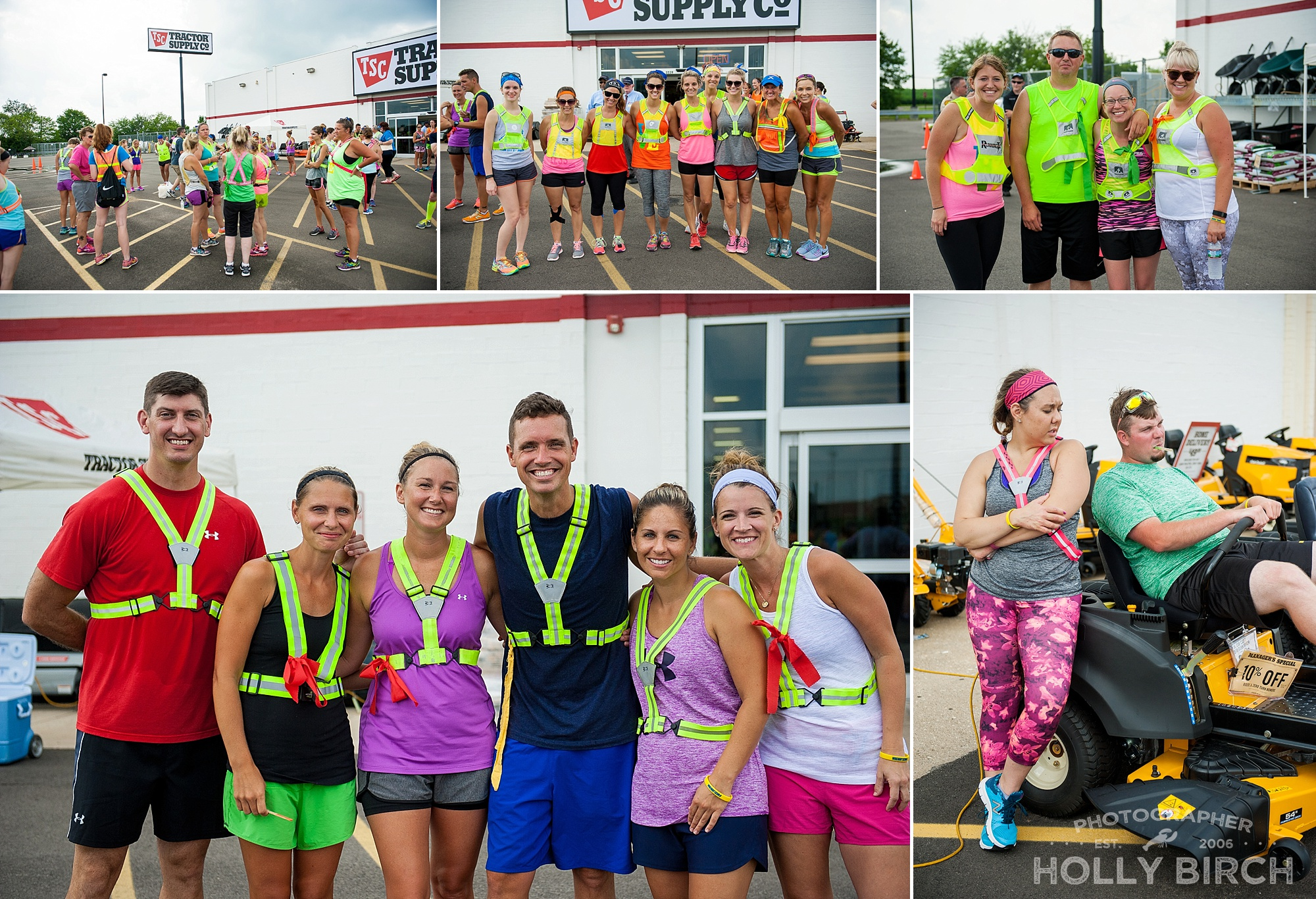 Tractor Supply hosts a runner oasis every year
