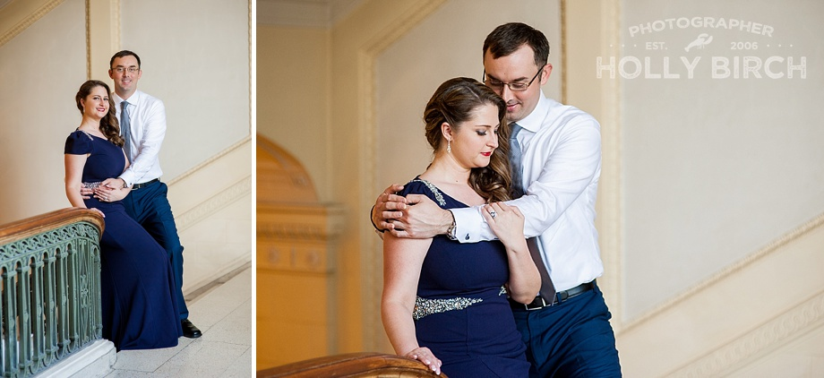 romantic dressy engagement pictures