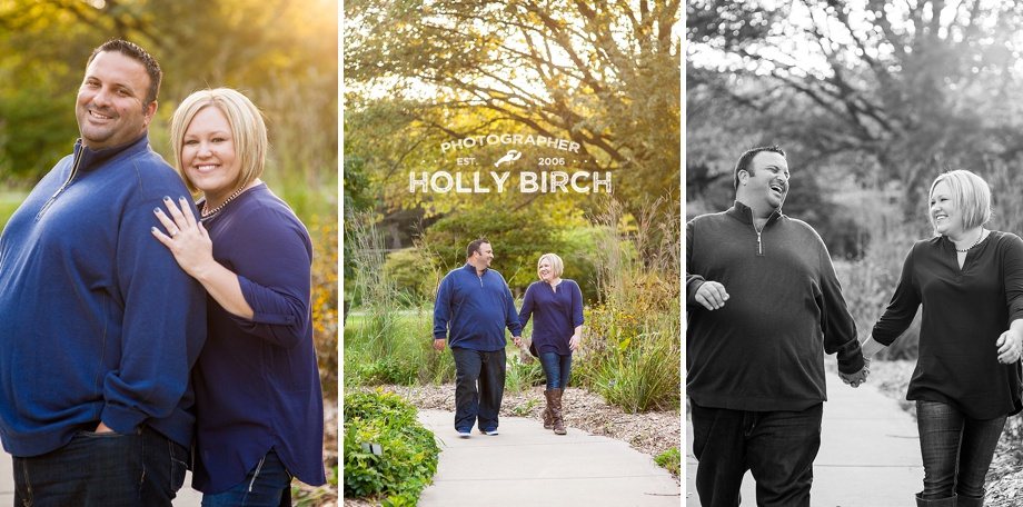 walking engagement photos