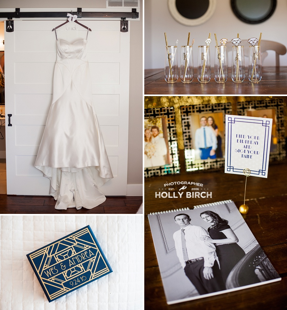 old Hollywood glam wedding