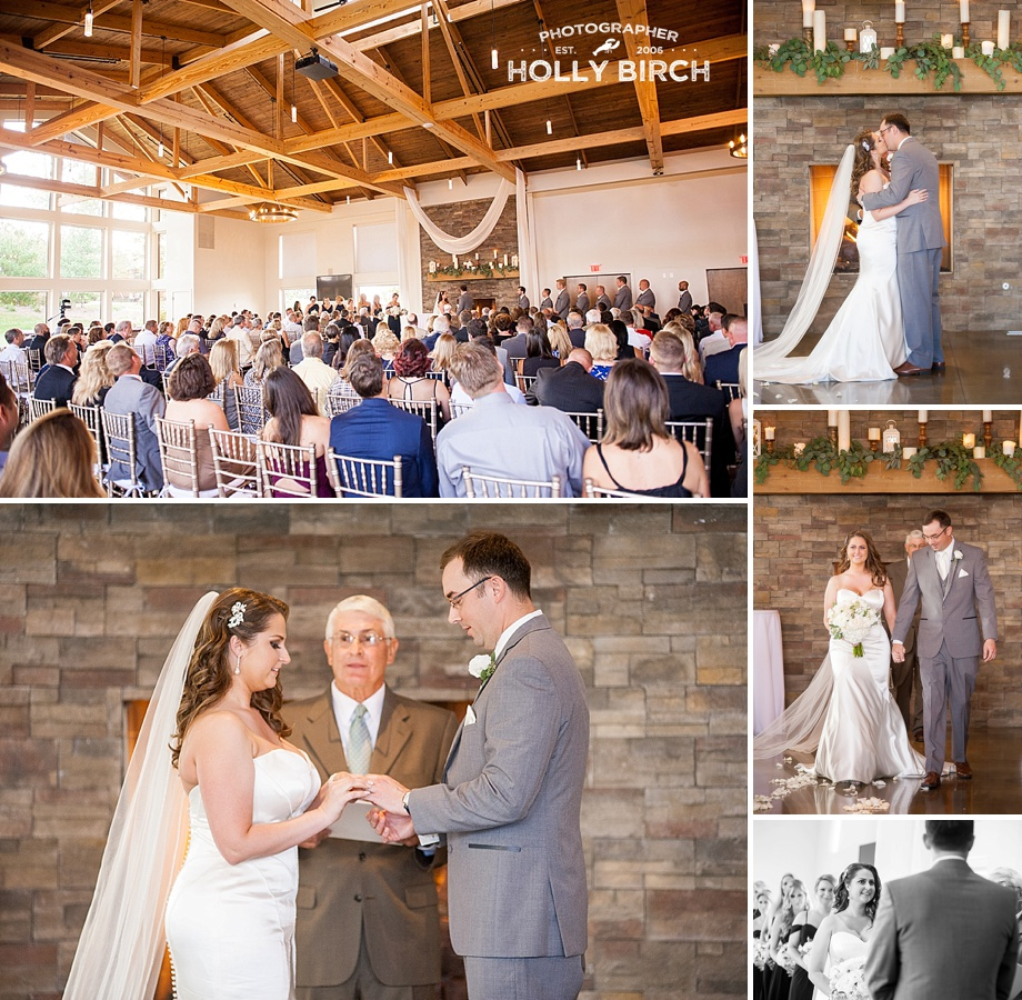 Pear Tree Estate fireplace ceremony