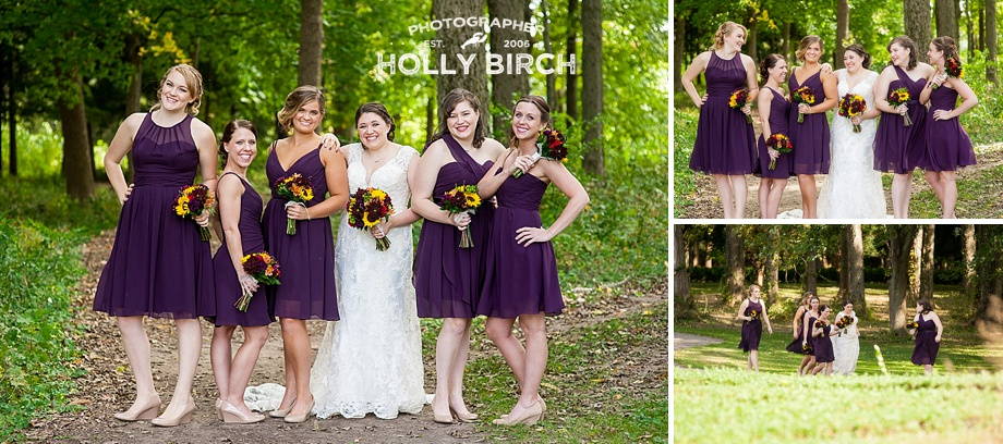 sassy bridesmaid pose