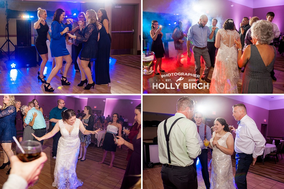 dance floor photos with fog machine