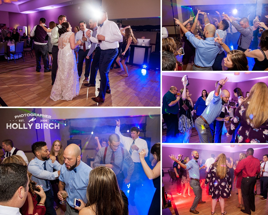 hilarious dance floor moves at wedding