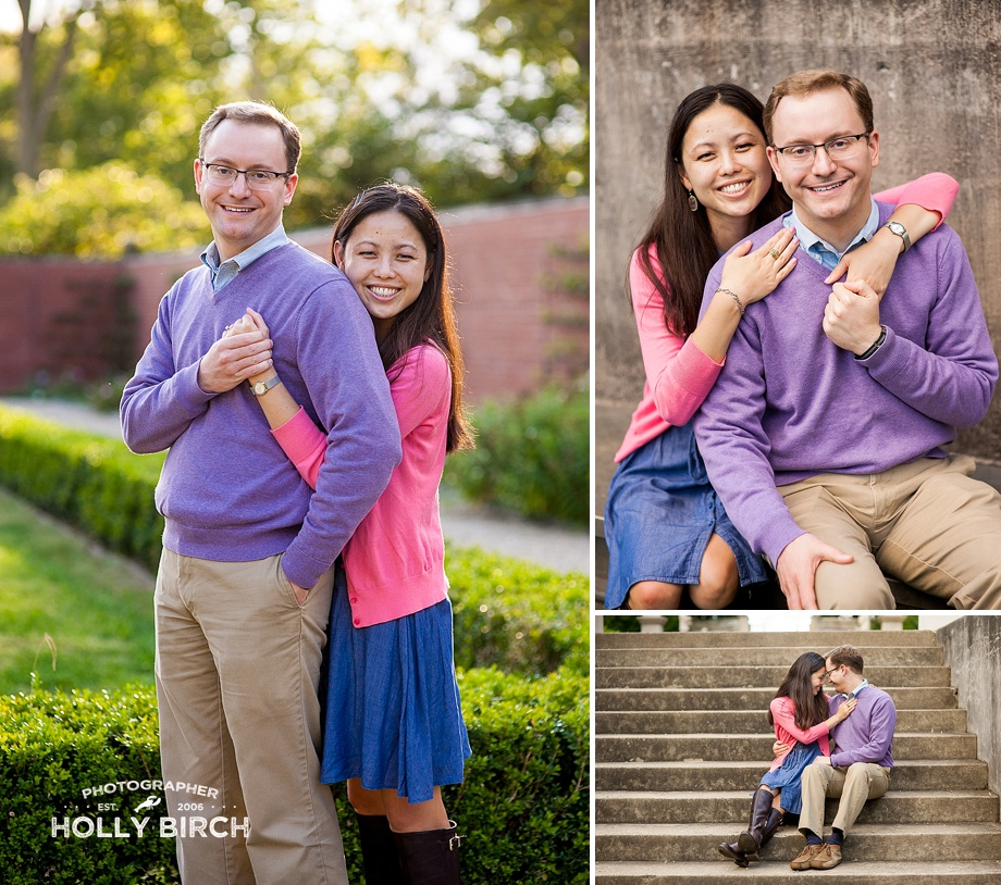 how to pose couples for engagement pictures