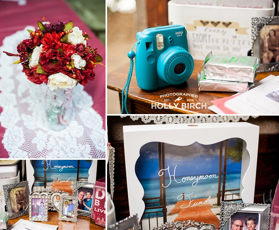 Fujifilm Instax camera and honeymoon fund