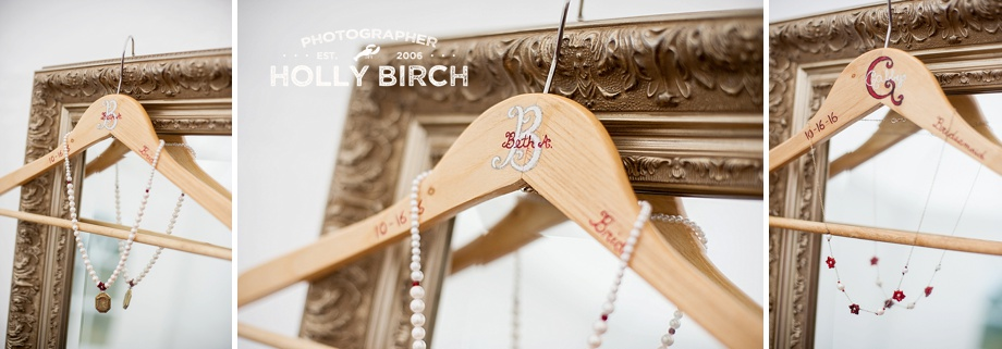 handmade pearl necklaces and DIY personalized hangers