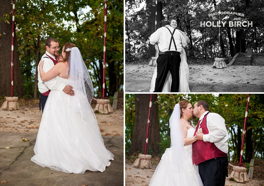 first dance under the trees