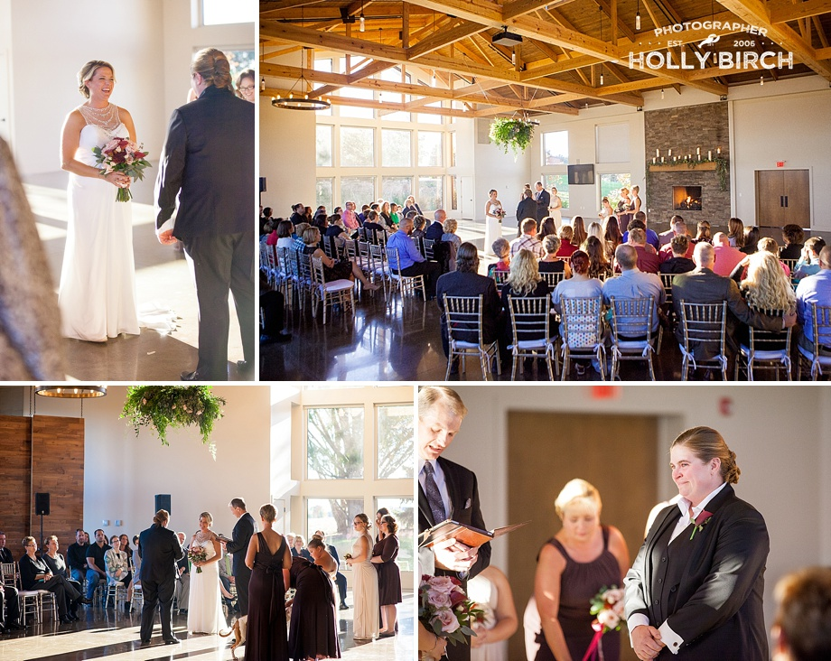 Pear Tree Estate wedding ceremony