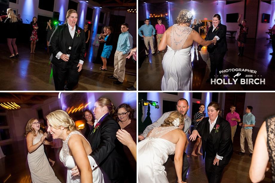 open fun dancing photos featuring brides