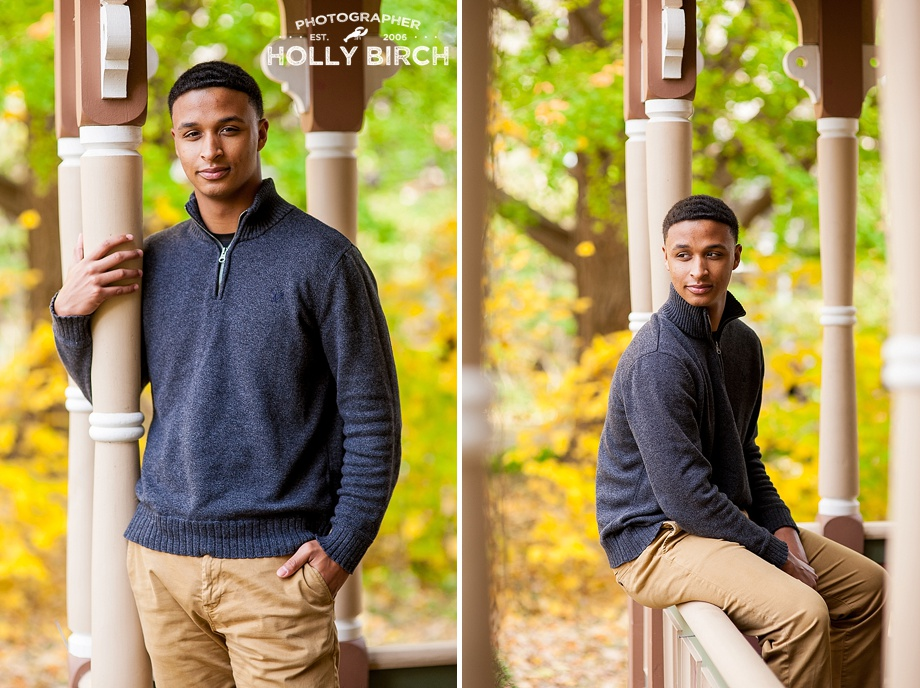 Champaign Central high school senior