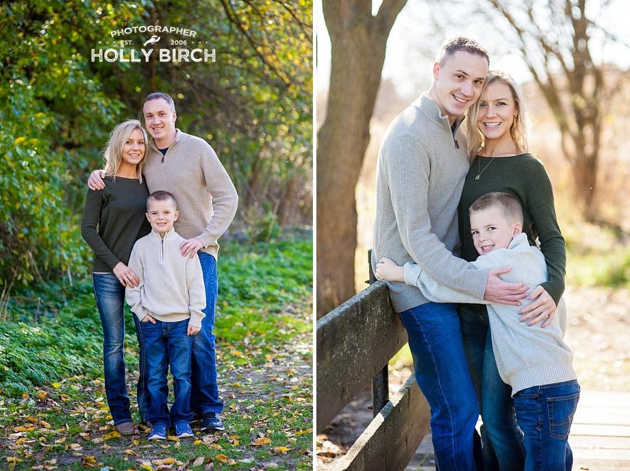 family of 3 photos