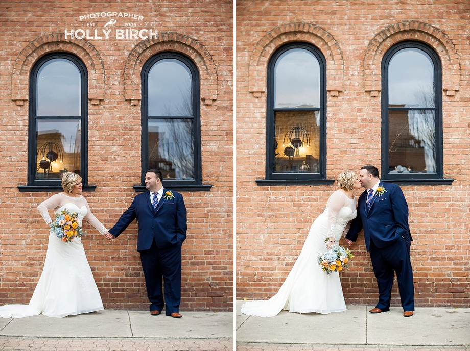 architectural wedding photos in Champaign