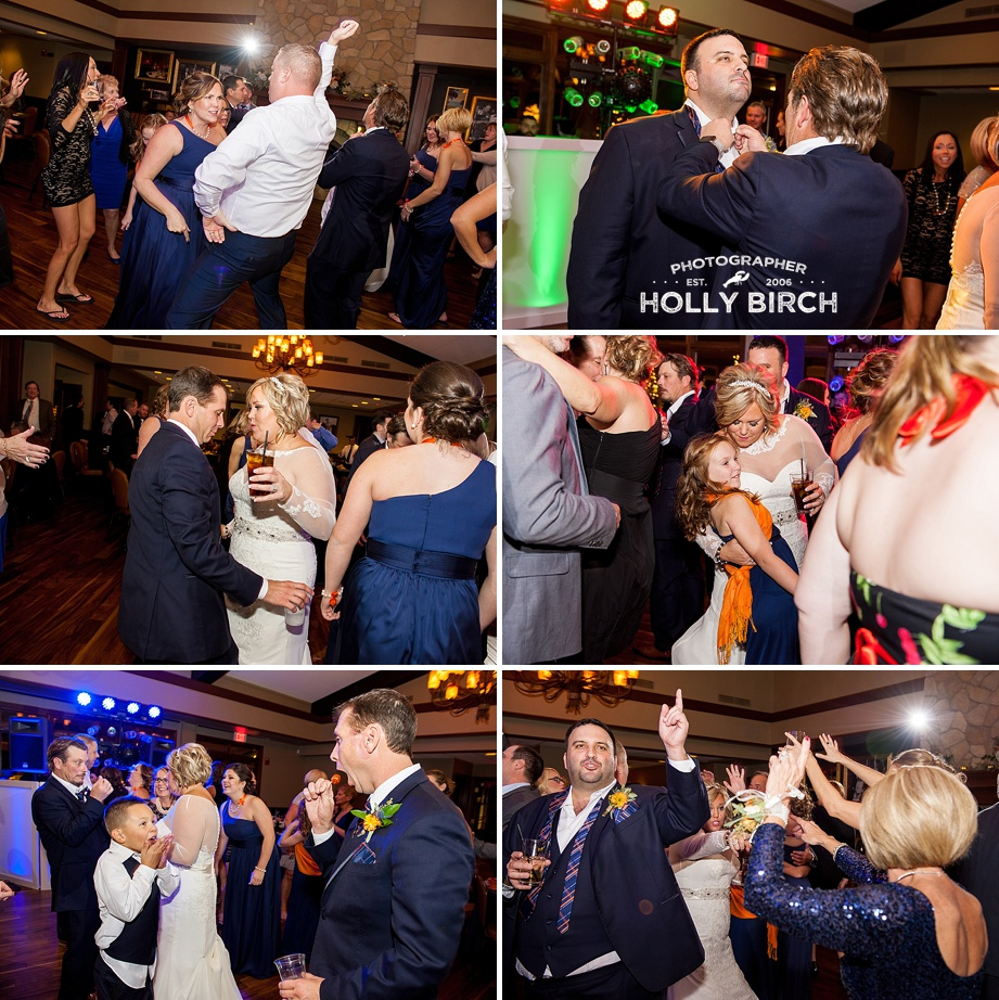 dancing reception at Urbana Country Club