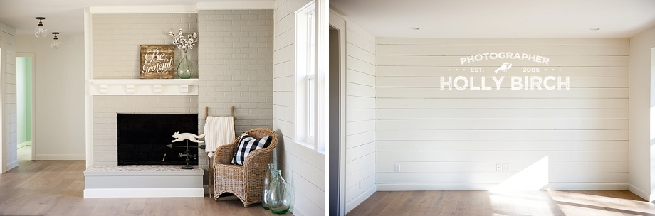 shiplap wall in front living room
