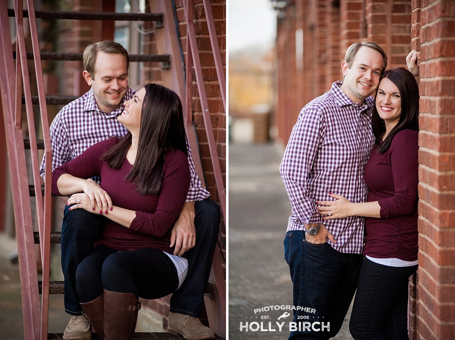 industrial warehouse engagement session