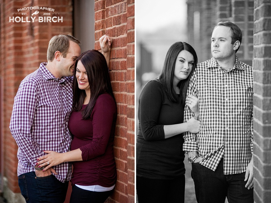 his and hers engagement session