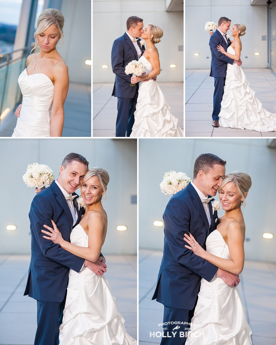 beautiful romantic portraits with bride and groom