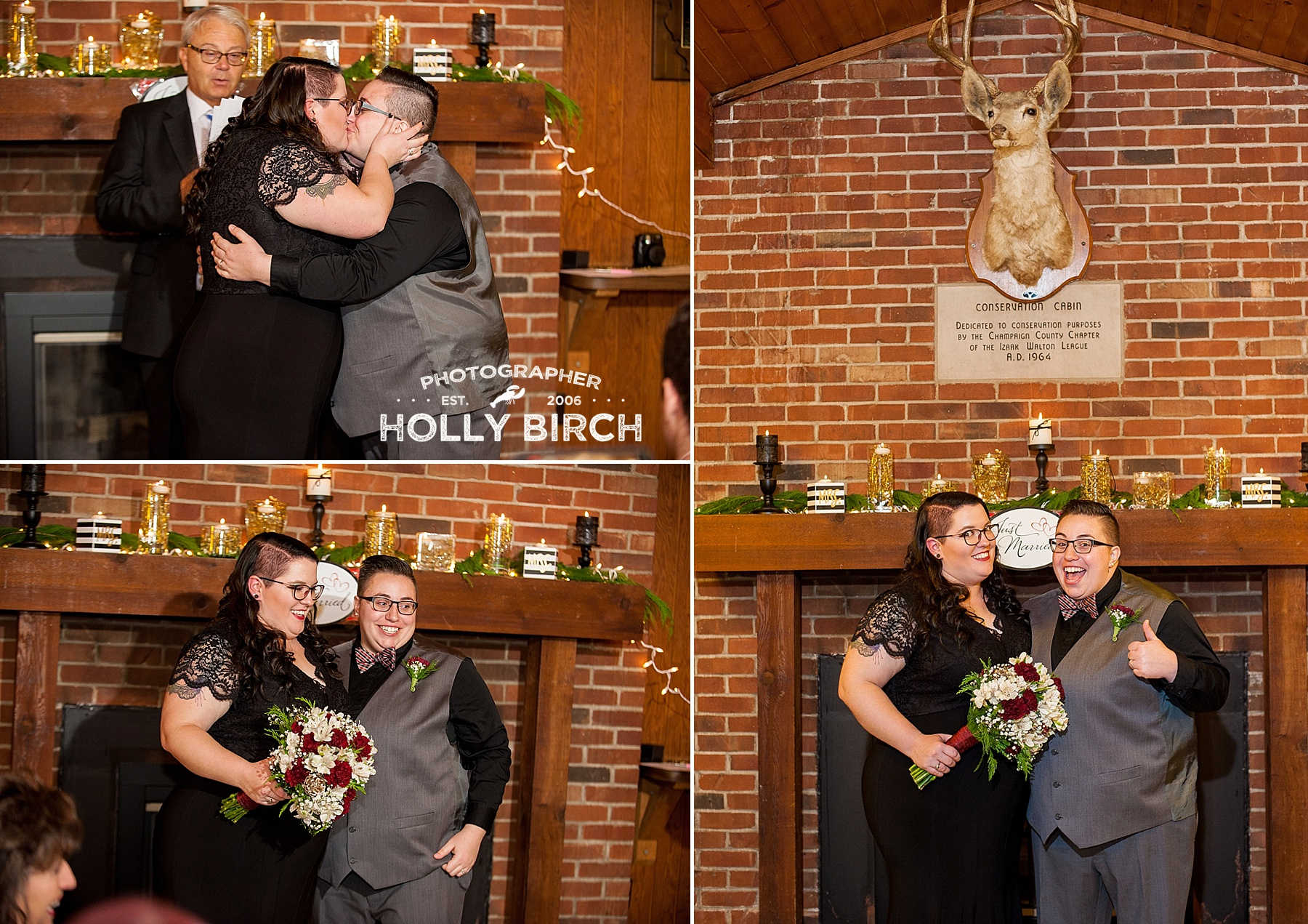 sealed with a kiss wedding ceremony