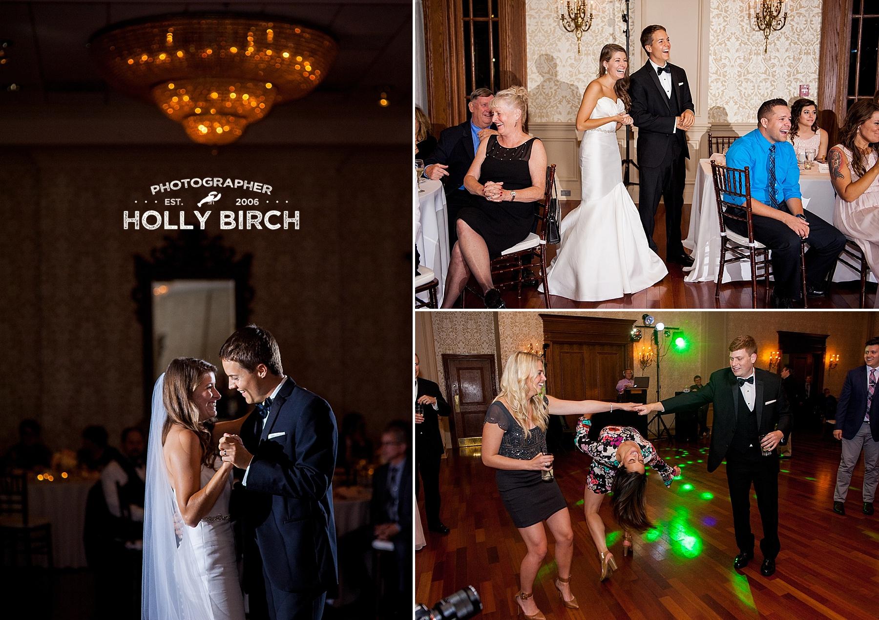 Gridded speedlights at wedding reception with MagMod
