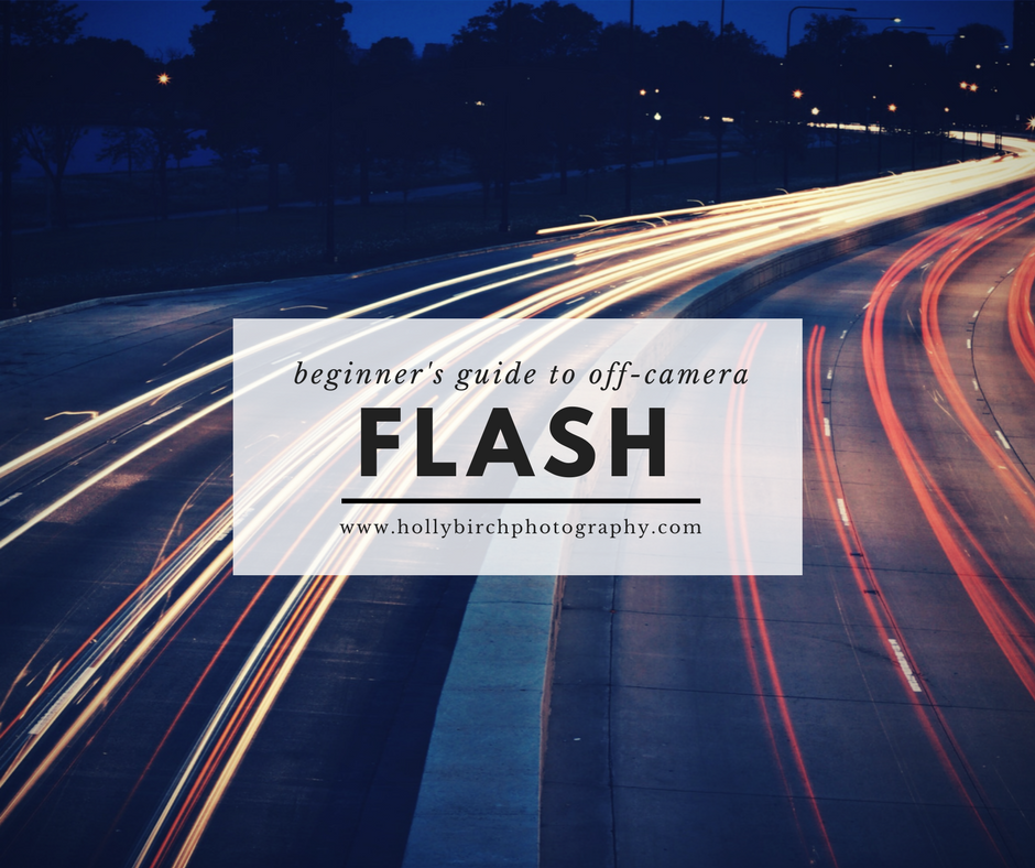 tips for photographers learning off-camera flash