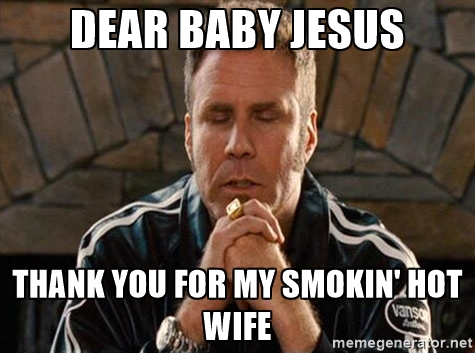smokin' hot wife meme