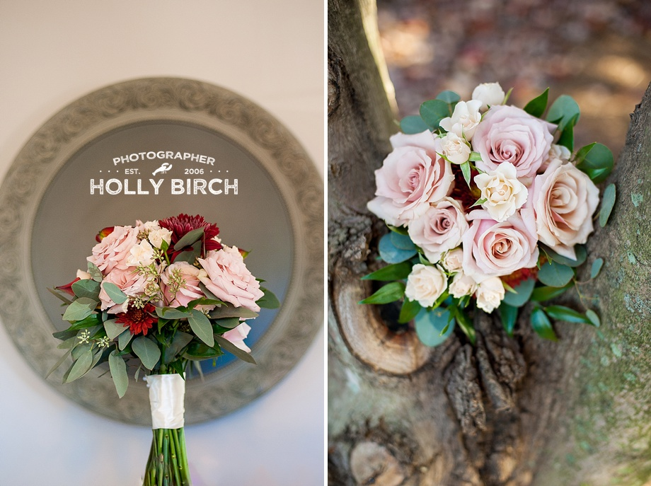 blush and wine wedding bouquets