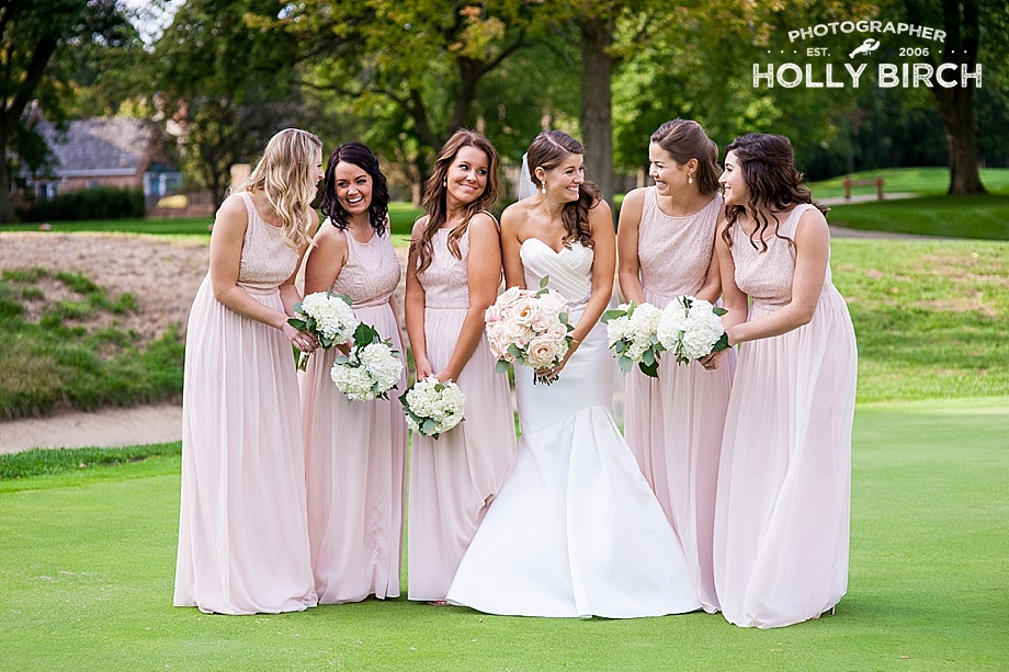 blush neutral bridesmaid dresses