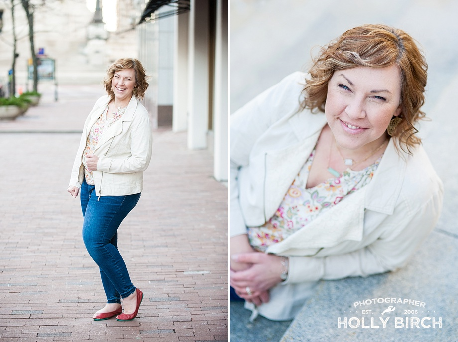 downtown Indianapolis photographer headshots