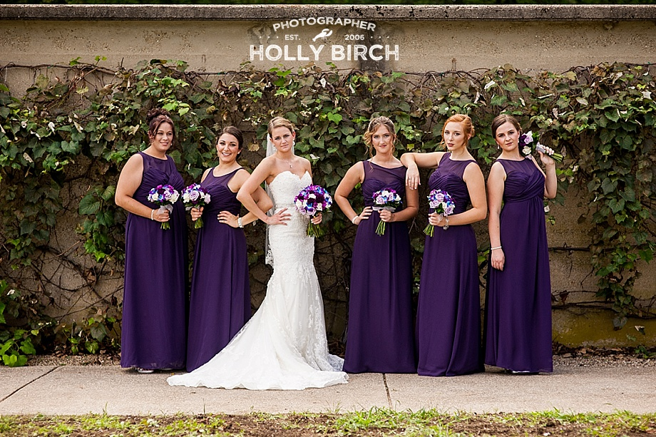 purple bridesmaids movie pose