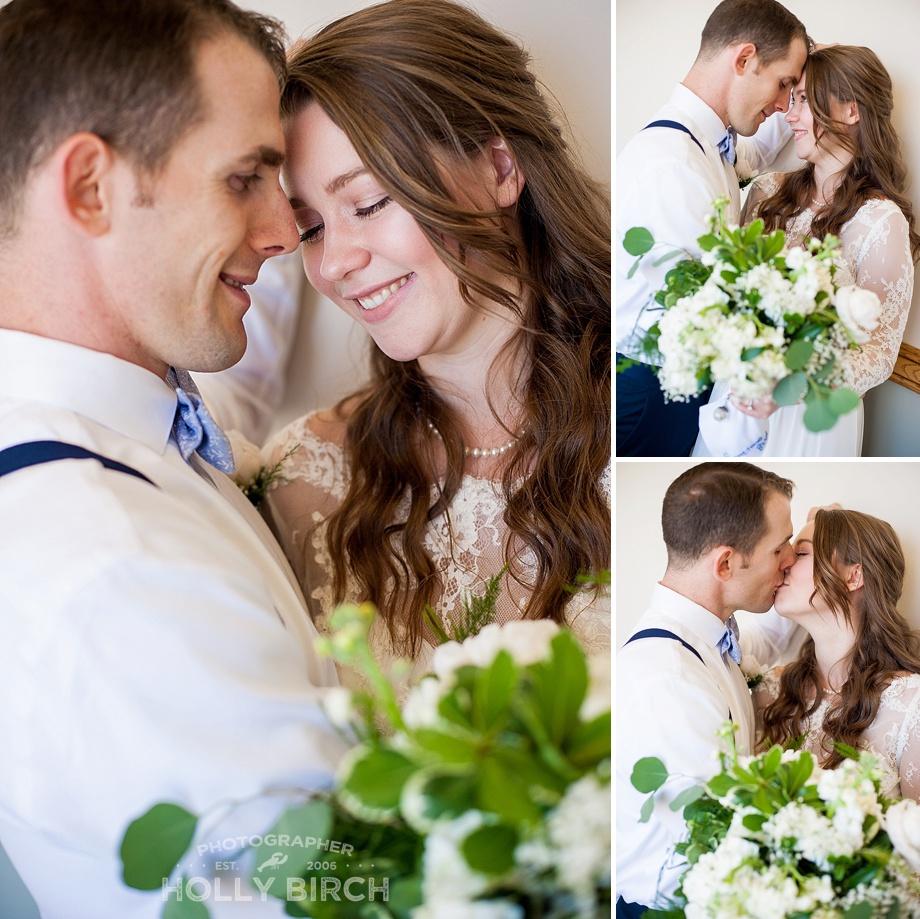 romantic weekday wedding portraits