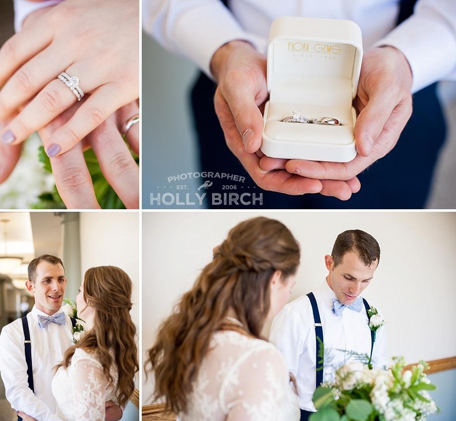 wedding band details