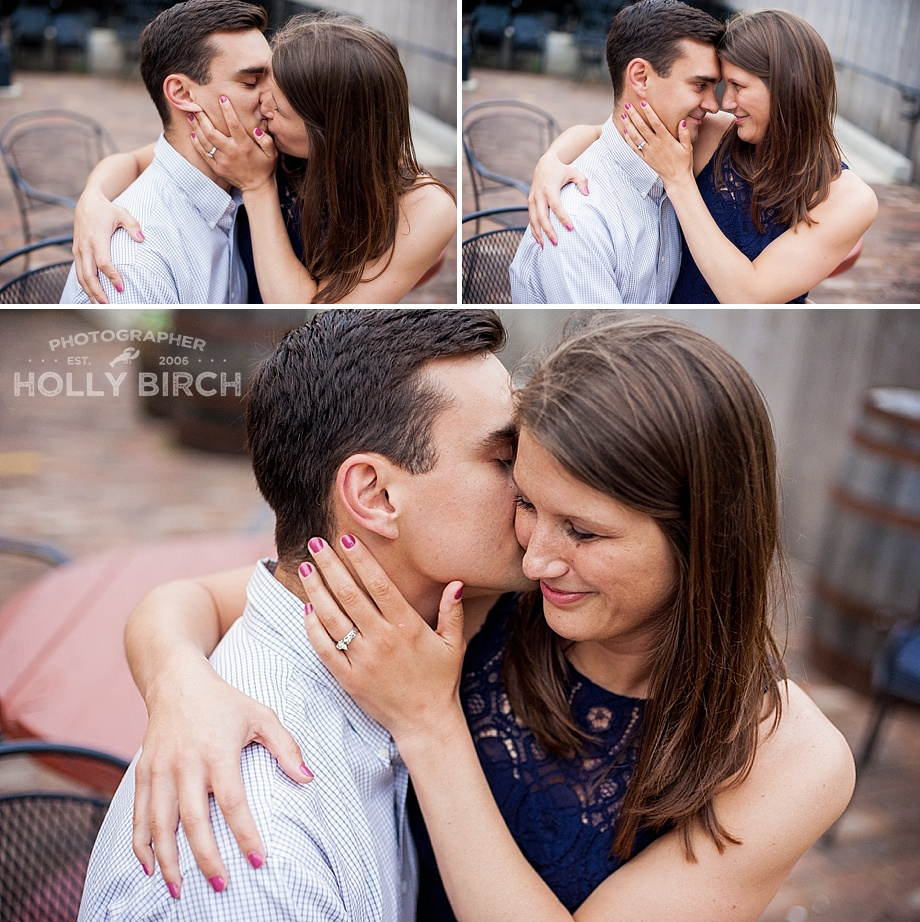 romantic unposed images from engagement photos