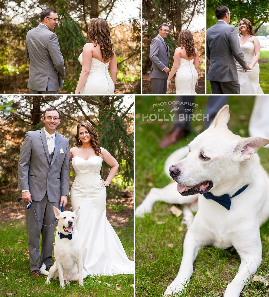 First Look with couple's dog Will