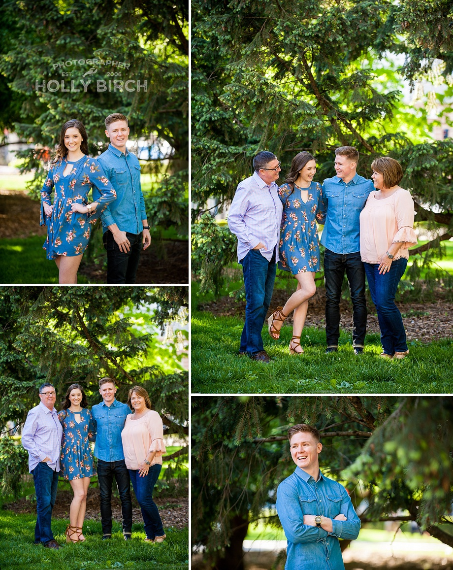 family sibling photo session in Urbana