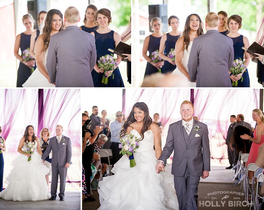 wedding vows and pronounced man and wife