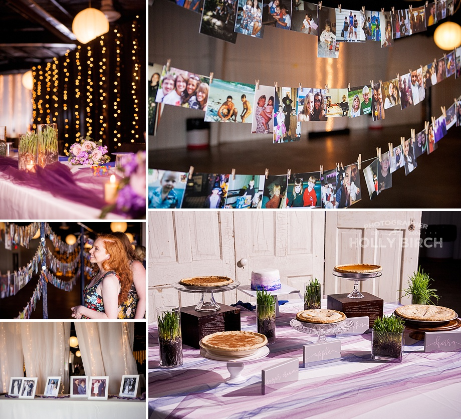 wedding details at Kankakee County Fairgrounds
