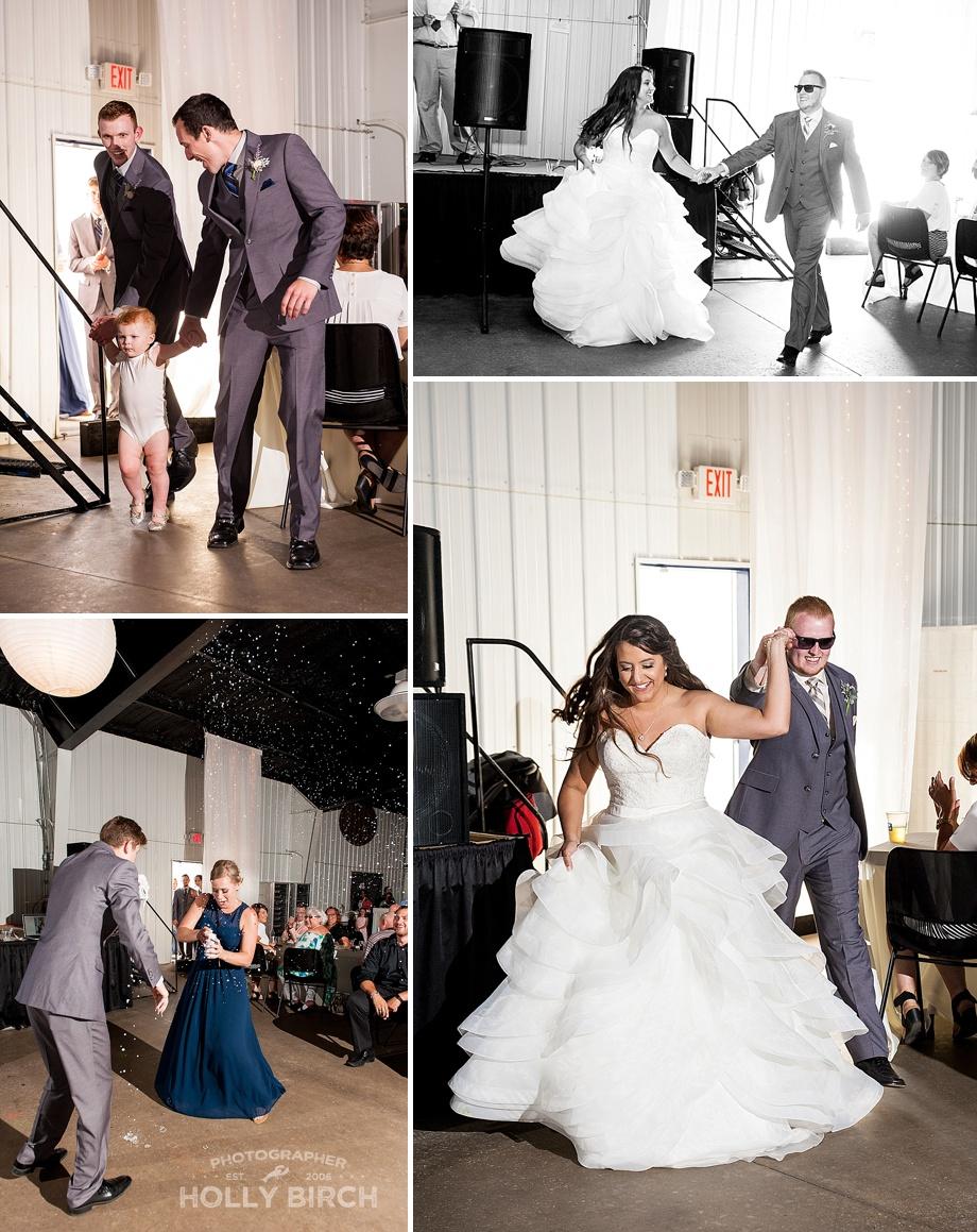 bridal party entrances