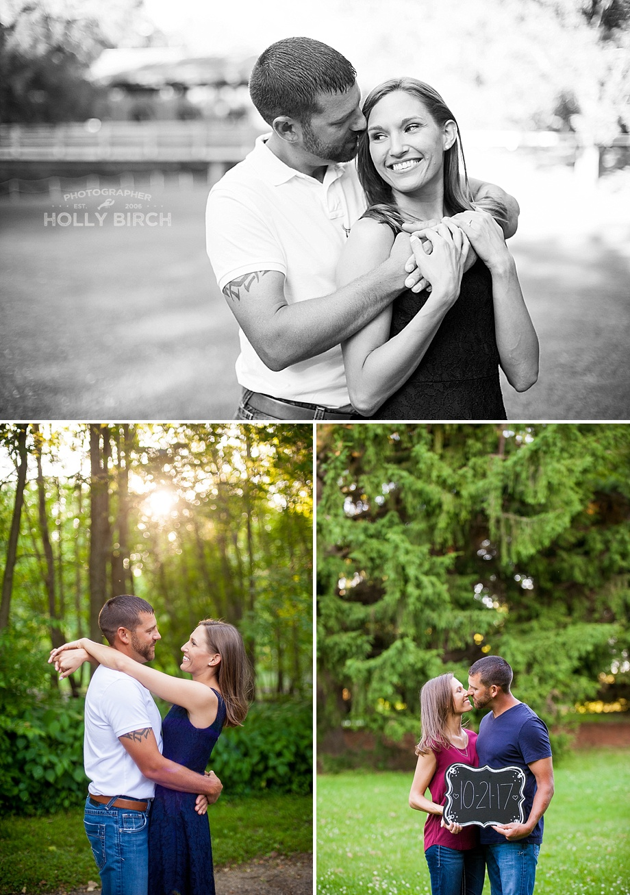 engagement photos at nature preserve