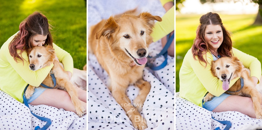 terminally ill dog gets photo session with owner