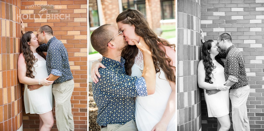 courthouse wedding romantic photos