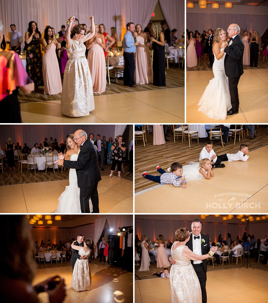 parents' first dances at iHotel