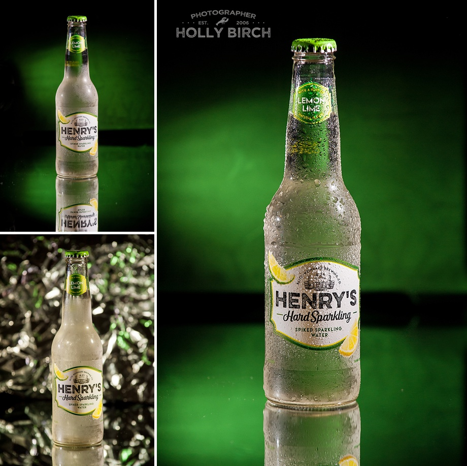 Henry's Hard Sparkling  spiked water in lemon lime