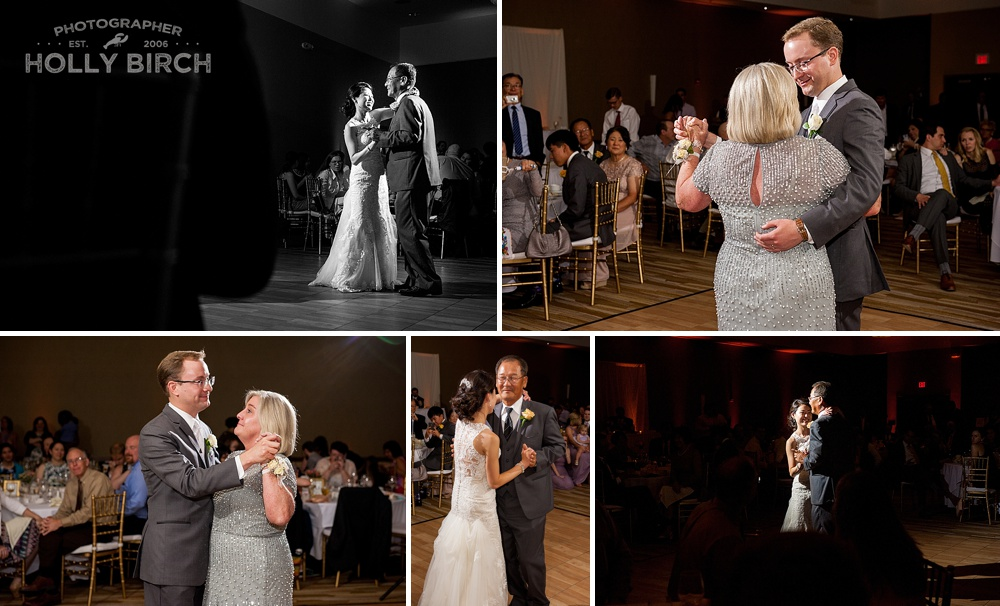 dramatic wedding dancing photos