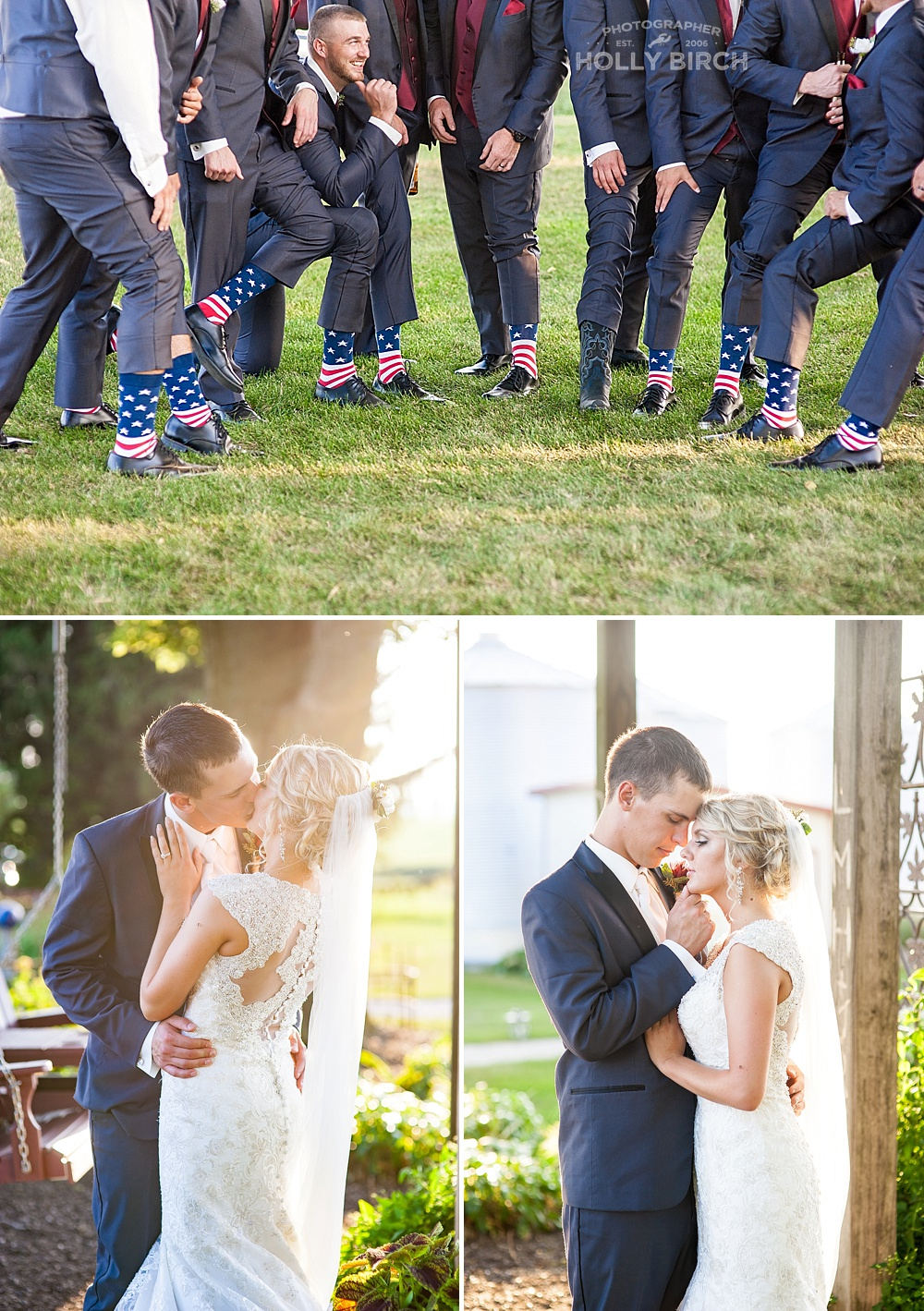romantic wedding photos at Hudson Farms