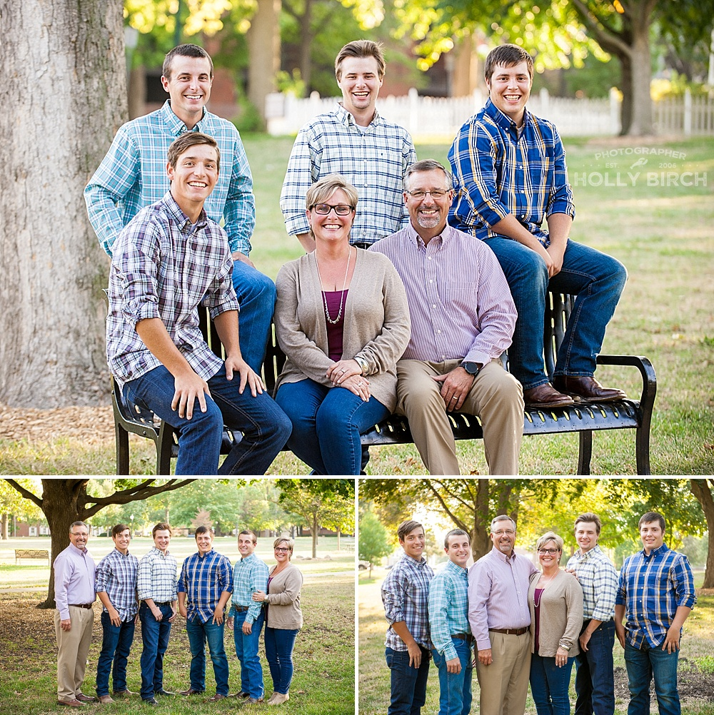 political candidate family photos
